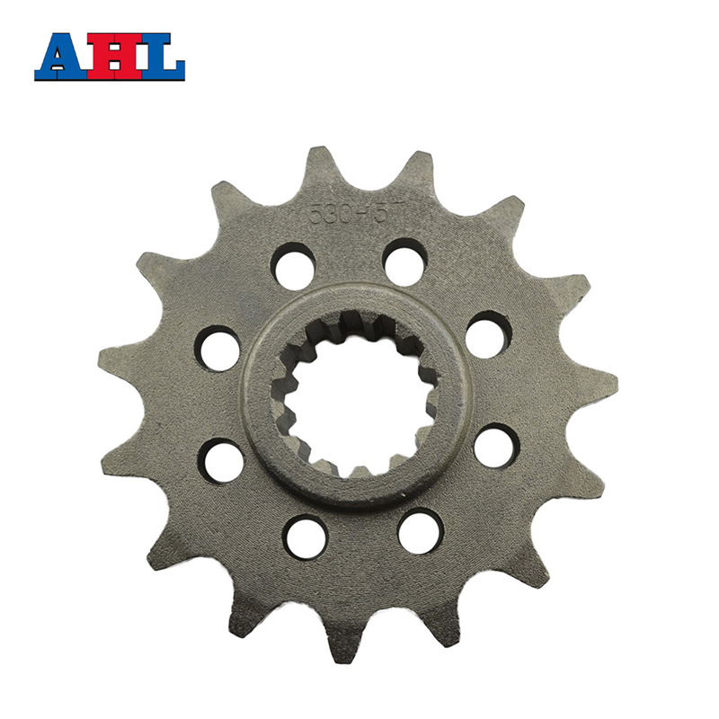 Racing Motorcycle Parts Front Sprocket Star 15 Teeth For Honda CB 400 CB400 1992-1998 Sprockets Fit 530 Drive Chain стоимость