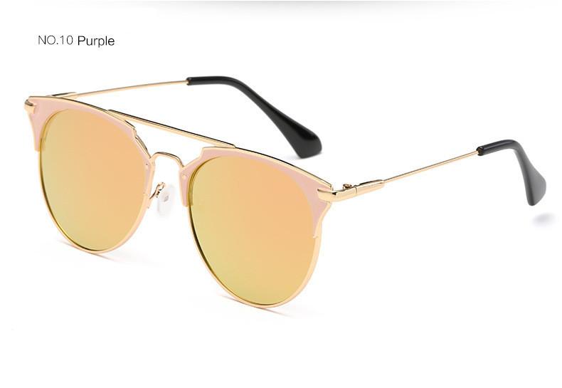 HTB1hfy1jHsTMeJjSszhq6AGCFXaD - Luxury Vintage Round Sunglasses Women Brand Designer 2018 Cat Eye Sunglasses Sun Glasses For Women Female Ladies Sunglass Mirror