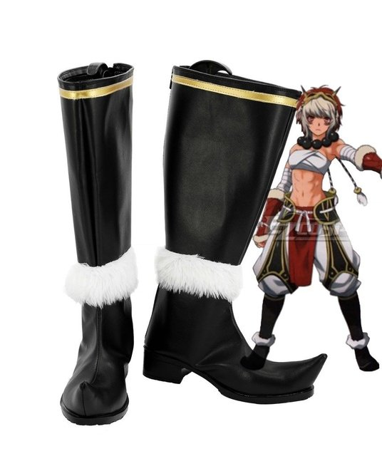 Fire Emblem if Rinka Cosplay Shoes Boots Custom Made