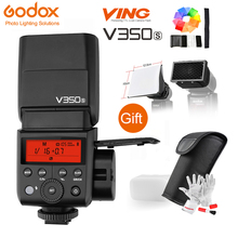Godox V350S TTL 2.4G HSS 1/8000s Speedlite Flash with Built-in Rechargeable Li-ion Battery for Sony a7RIII a7RII a7R a58 a99