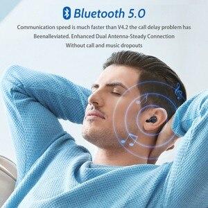 Image 4 - FONKEN Q13S Bluetooth אוזניות TWS HiFi סטריאו בס מוסיקה אוזניות עמיד למים ספורט אוזניות אלחוטי אפרכסת עבור Smartphone