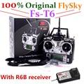 100% original receptor flysky fs-t6 con r6b rc transmisor 6ch control remoto fly sky y