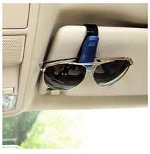 car vehicle visor accessories sunglasses Holder glasses car clips sunglassess clip holder soporte gafas pen holder