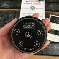 AURORA II Power Supply Tattoo Mini Critical LCD Tattoo Power Supply with Power Adapter for Coil & Rotary Tattoo Machines