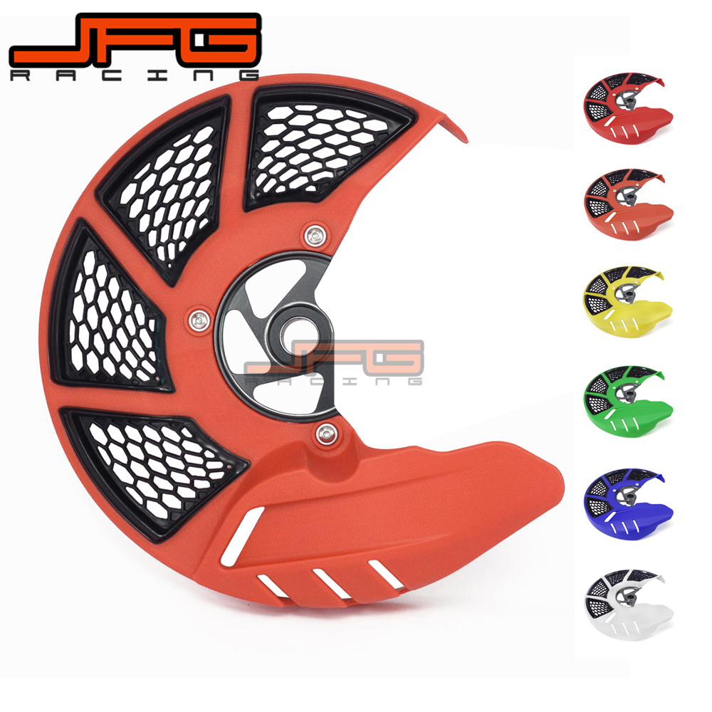 Front Brake Disc Rotor Guard Cover Protector Protection For KTM EXC EXCF 125 150 200 250 300 350 400 450 500 525 530 2016 2017 front brake disc rotor guard cover for ktm 125 150 200 250 300 350 400 450 500 520 525 530 exc exc f excf 2016 2017 2018