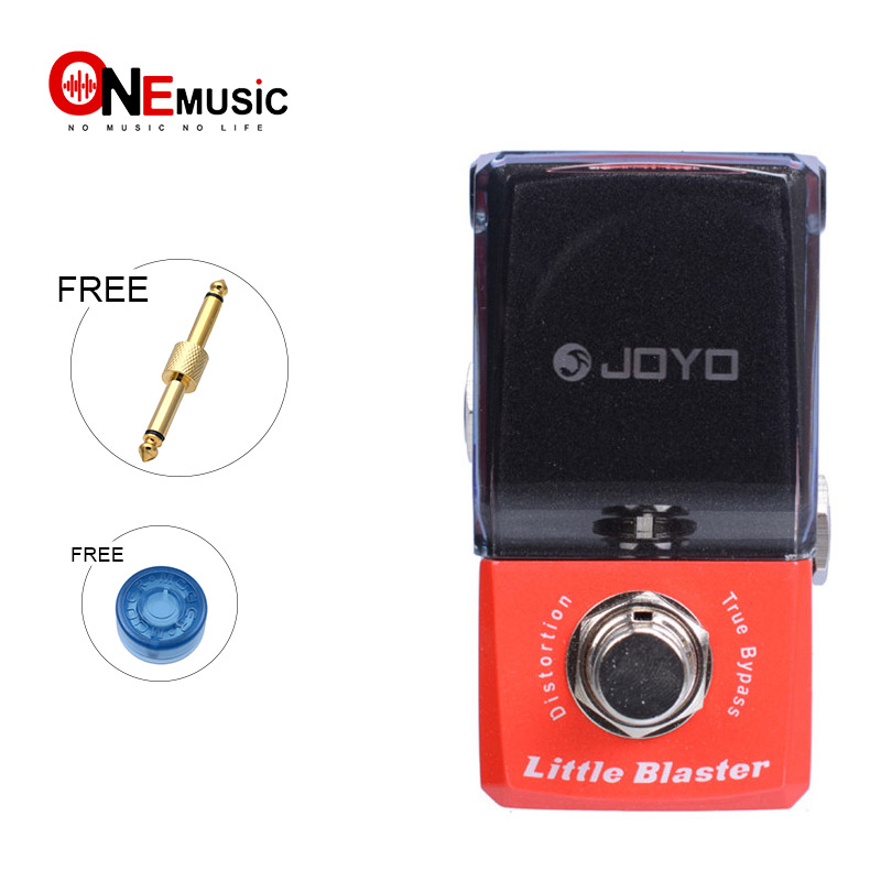Joyo JF 303 Little Blaster Distortion Effect guitar pedal Ironman Mini Series Effect Pedal With gold