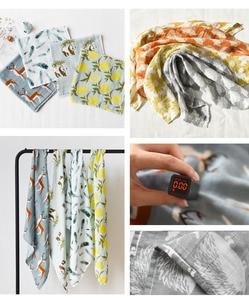 Новое хлопковое детское одеяло для новорожденных, мягкое детское одеяло из органического хлопка, муслиновое Пеленальное Одеяло, обертывание, одежда для кормления, полотенце, шарф, детские вещи