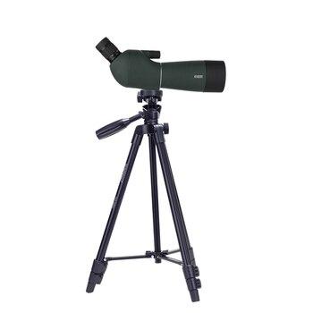 "Portable Aluminium Alloy Outdoor Tripod 49"" with Carrying Bag Monocular Binocular Spotting Scope DSLR Camera Observing Tripod"