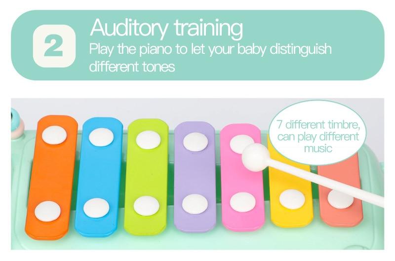 Instrumento Crianças Música Piano de Brinquedo Musical