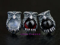 Таиланда, Девушка сделала Кристаллические серьги сова одна пара