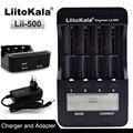 Liitokala lii500 LCD 3.7V/1.2V AA/AAA 18650/26650/16340/14500/10440/18500 Battery Charger with screen+12V 2A Adapter USB 5V1A