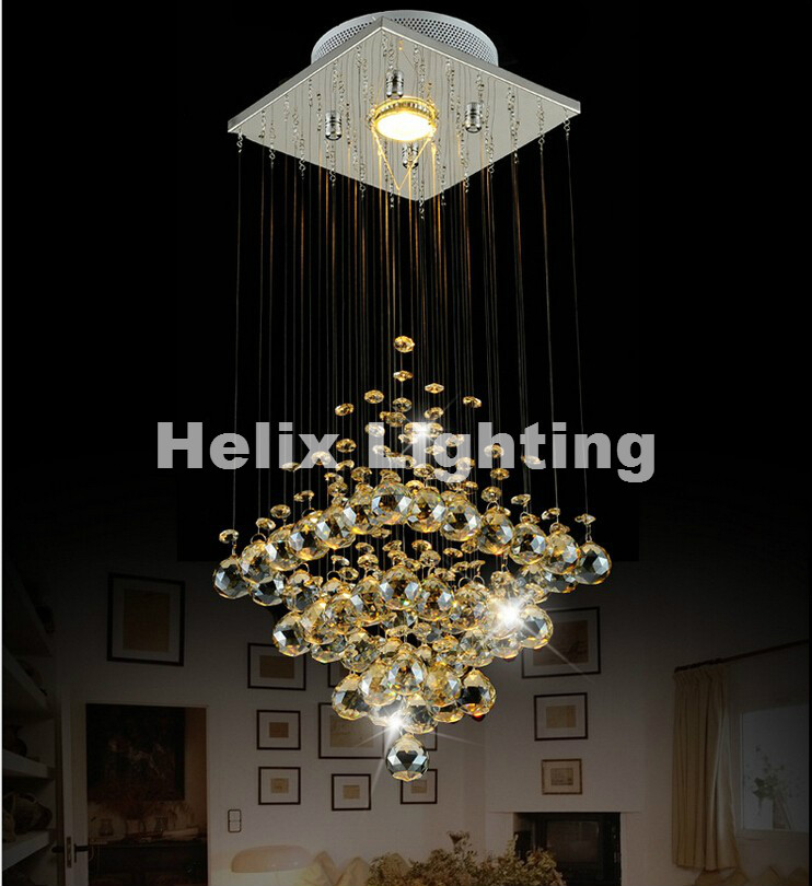 New Arrival D200mm Modern Chandeliers,Crystal Pendant Lamp First-Level K9 Crystal Chandelier For Living Room With LED Bulb ACNew Arrival D200mm Modern Chandeliers,Crystal Pendant Lamp First-Level K9 Crystal Chandelier For Living Room With LED Bulb AC