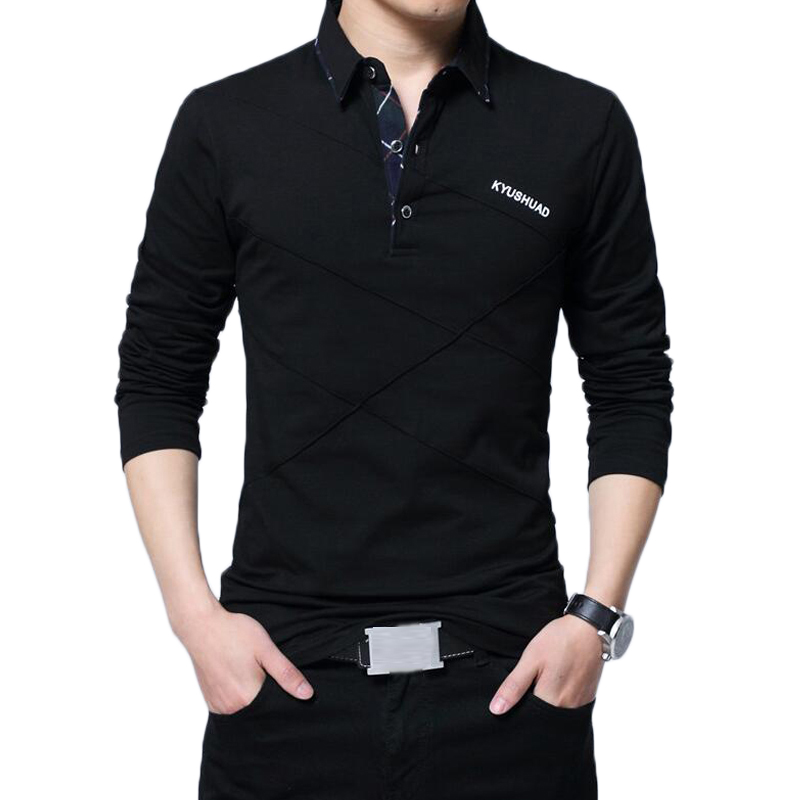 86e751293ed74 Men Polo Shirt Brand New Spring Autumn Polos Men s Casual Fashion Cotton  Solid Color Turn Down
