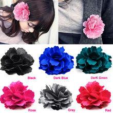 Beauty fashion Rose Flower hairpin brooch hair accessory headband hair rope brooch