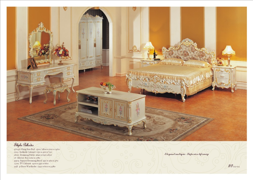 Buy Classic Bedroom Furniture Solid Wood Hand Carved Bedroom Set Free Shipping