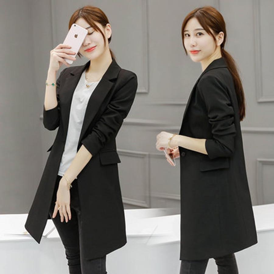 Online Get Cheap Ladies Formal Blazer Black -Aliexpress.com ...
