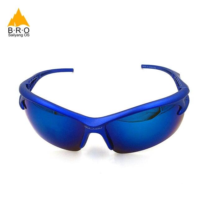 2018 bro quente ciclismo óculos à prova de explosão das mulheres dos homens esportes ao ar livre óculos de bicicleta óculos de sol 5