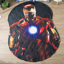 1pcs Marvel iron Man Cool blanket air conditioning comforter children Adult The Avengers in summer bedding
