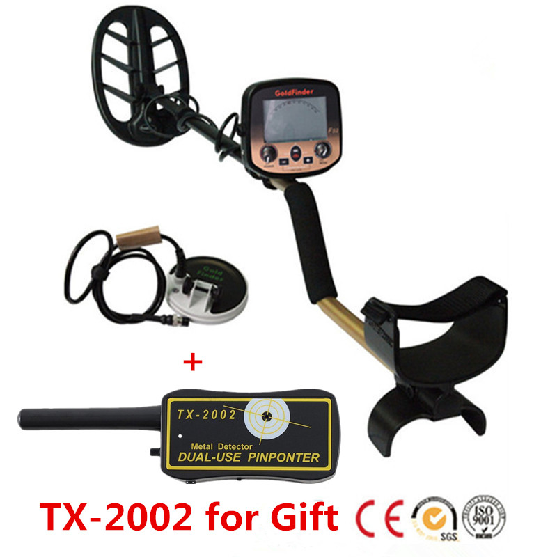 Professtional Underground Gold Digger Metal Finder Detector FS2 Treasure Hunter With LCD Display Headphone Silver Coins Detector rechargeable ar924 underground metal detector for gold digger treasure hunter with battery ar 924