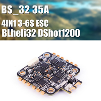 35A 3 6S Blheli 32 4IN1 ESC Dshot1200 32 bit for RC Models Multicopter FPV Racing Drone Quadcopter DIY Spare Part