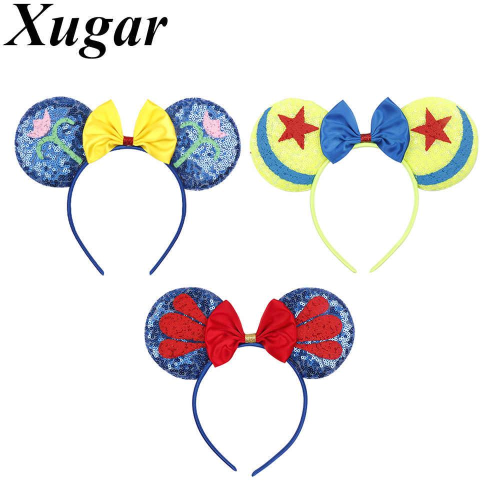 Xugar аксессуары для волос блесток флаг мышь уши повязки на голову для девушек 4 июля головная повязка для девочек детские головные уборы
