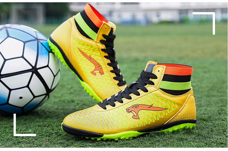 2017 High Ankle Superfly Boys Kids Football Boots Cheap Indoor Soccer Shoes Cleats Girls Sneakers 9High Quality voetbalschoenen