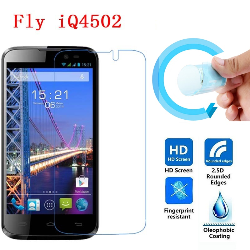 Fly IQ4502 Screen Protective Film, 2.5D Ultra-Thin HD Clear Soft Pet Screen Protector Film for Fly IQ4502 Era Energy 1