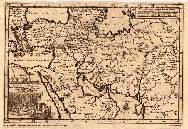 Vintage Antichi Vecchi Tempi Saudita Mappa Vintage Classic Retro Della Tela  Di Canapa Pittura Cornice Poster