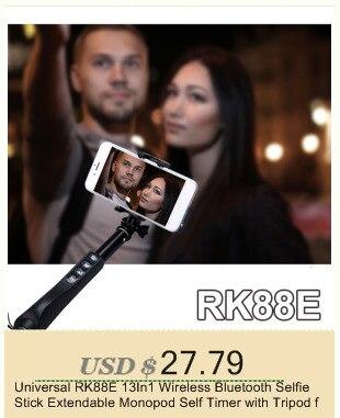 אוניברסלי RK88E 13In1 אלחוטית Bluetooth Selfie מקל להארכה חדרגל עצמי טיימר עם חצובה עבור אנדרואיד, iPhone Gopro