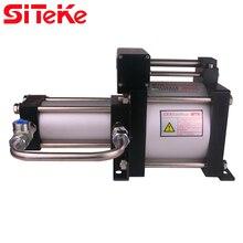 SITEKE Air Pressure Booster Pump AB05T  5:1 Ratio  Increasing pressure  to Max 41.5 Bar  Min driving gas pressure 1.7 Bar цены
