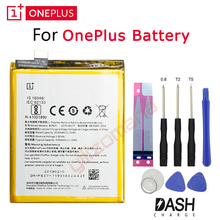 ONE PLUS Original Replacement Battery For OnePlus 5 5T 3 3T 2 1 1+ BLP571 BLP597 BLP613 BLP633 BLP637 Retail Package Free Tools