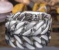 24mm pesado escalas joyería titanium del acero inoxidable de la pulsera del amor de plata del encintado cubana enlaces cadenas hombres brazalete pulsera