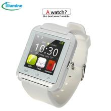 Heißer verkauf bluetooth Smart Watch u8 SmartWatch für iPhone 4/4s/5/5s/note 3 für htc android-handy xiaomi Smartphones