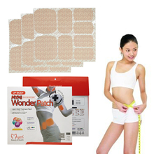 24pcs/lot Mymi Wonder Sliming Patch Abdomen Treatment Weight Loss Products