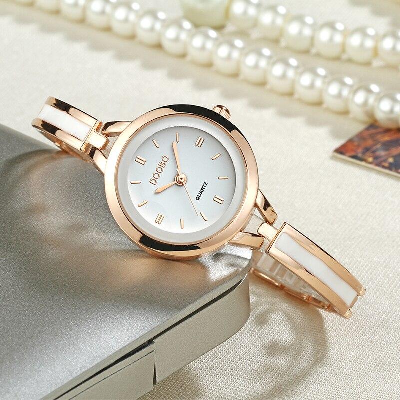 Lyxiga Kvinnor Klocka Berömda Märken Guld Mode Design Armbandsur - Damklockor - Foto 5