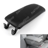 Sale For Audi A4 B6 S4 A6 2001 2006 PU Leather Center Console Armrest Cover Lid