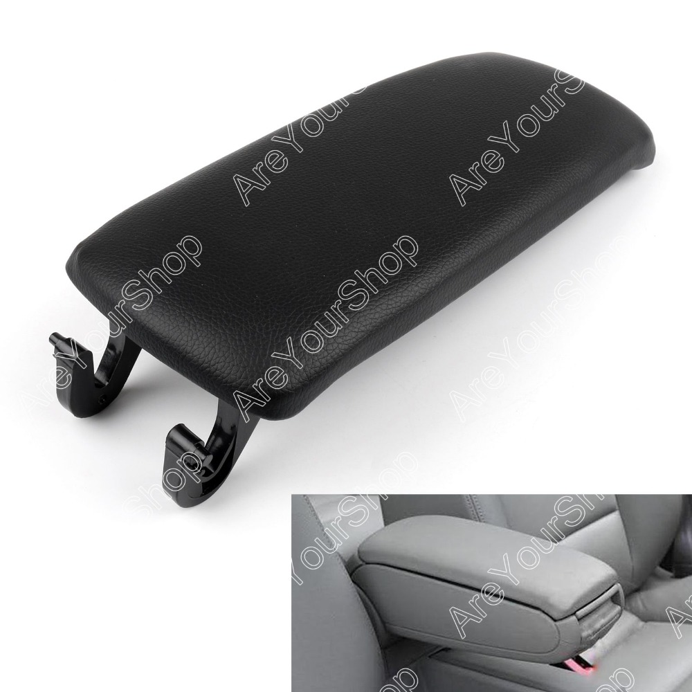 Areyourshop Sale For Audi A4 B6 S4 A6 2001-2006 PU Leather Center Console Armrest Cover Lid