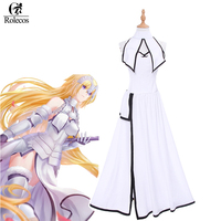 Rolecos 2017 New Arrival Mobile Game Fate Grand Order Cosplay Costume White Joan Of Arc Cosplay