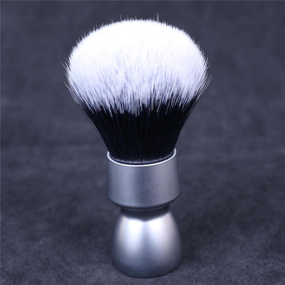 Yaqi Heavy Metal Handle Synthetic Hair Tuxedo Knot Shave Brush For Men Shaving
