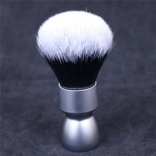 Yaqi Heavy Metal Handle Synthetic Hair Tuxedo Knot Shave Brush for Men Shaving
