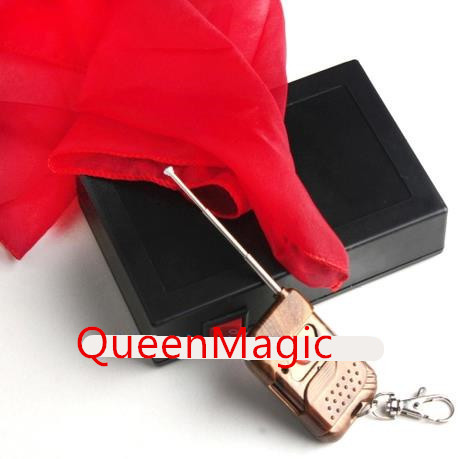 Remote Flying Silk/Magic trick,stage magic props,comedy,Mentalism,close-up,Accessories