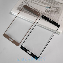 Voor Samsung Galaxy Note 4 N910 N910C N910F N910A Lcd Touch Screen Voor Glas Outer Panel Adhesive Vervanging Outer Glas lens(China)