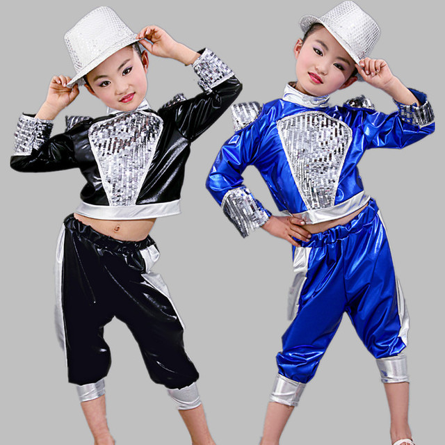 aa893340170c Children 's Performance Costumes Girls Liangpi Jazz Clothing Girls Children  Hip - Hop Modern Dance Performance Clothing
