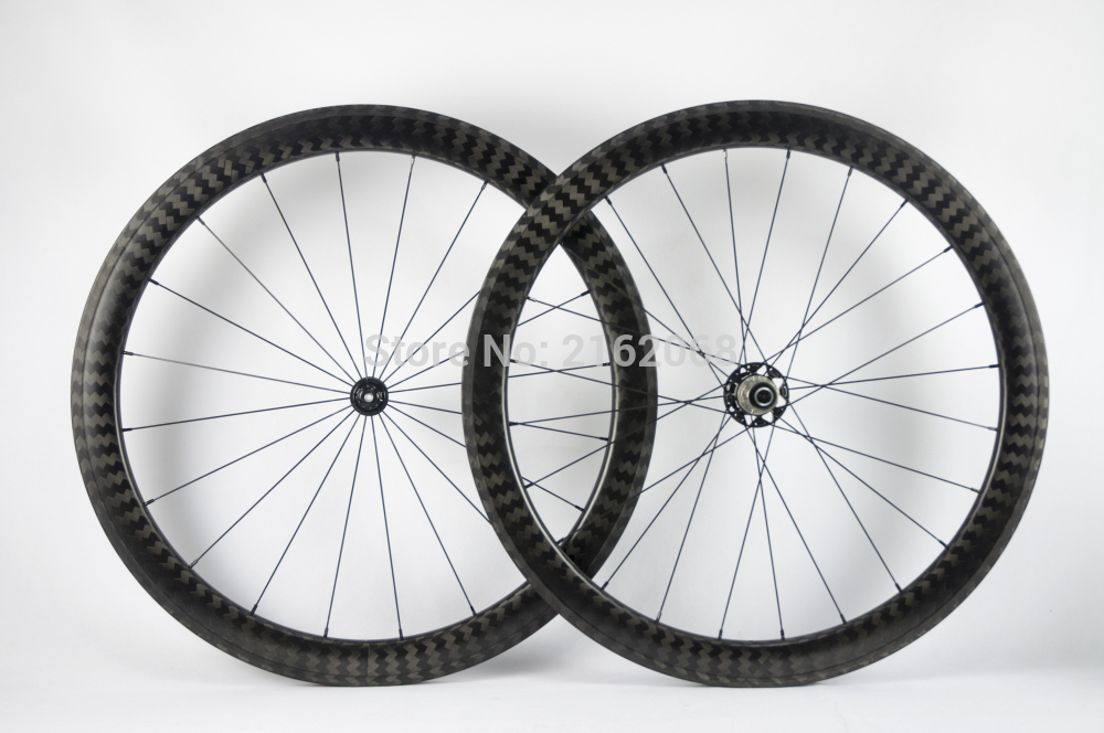Newest 700C 50mm Road bike matte twill 12K full carbon fibre bicycle wheelset clincher rim lightest 23 25mm width Free shippingNewest 700C 50mm Road bike matte twill 12K full carbon fibre bicycle wheelset clincher rim lightest 23 25mm width Free shipping