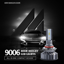 2 pcs Car 9005 9006 LED H1 H7 H4 H11 ZES LED Headlight Bulbs 80W 8000LM 6500K DC 12V Automobile Headlamp Front Fog Lamp new arrival easter baby girls long sleeve cotton floral ruffle boutique romper tutu pink clothes bunny kids wear match bow kids