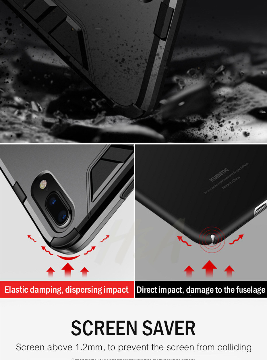 Shockproof Armor Phone Case For iPhone Plus TPU + PC Protective Case 7
