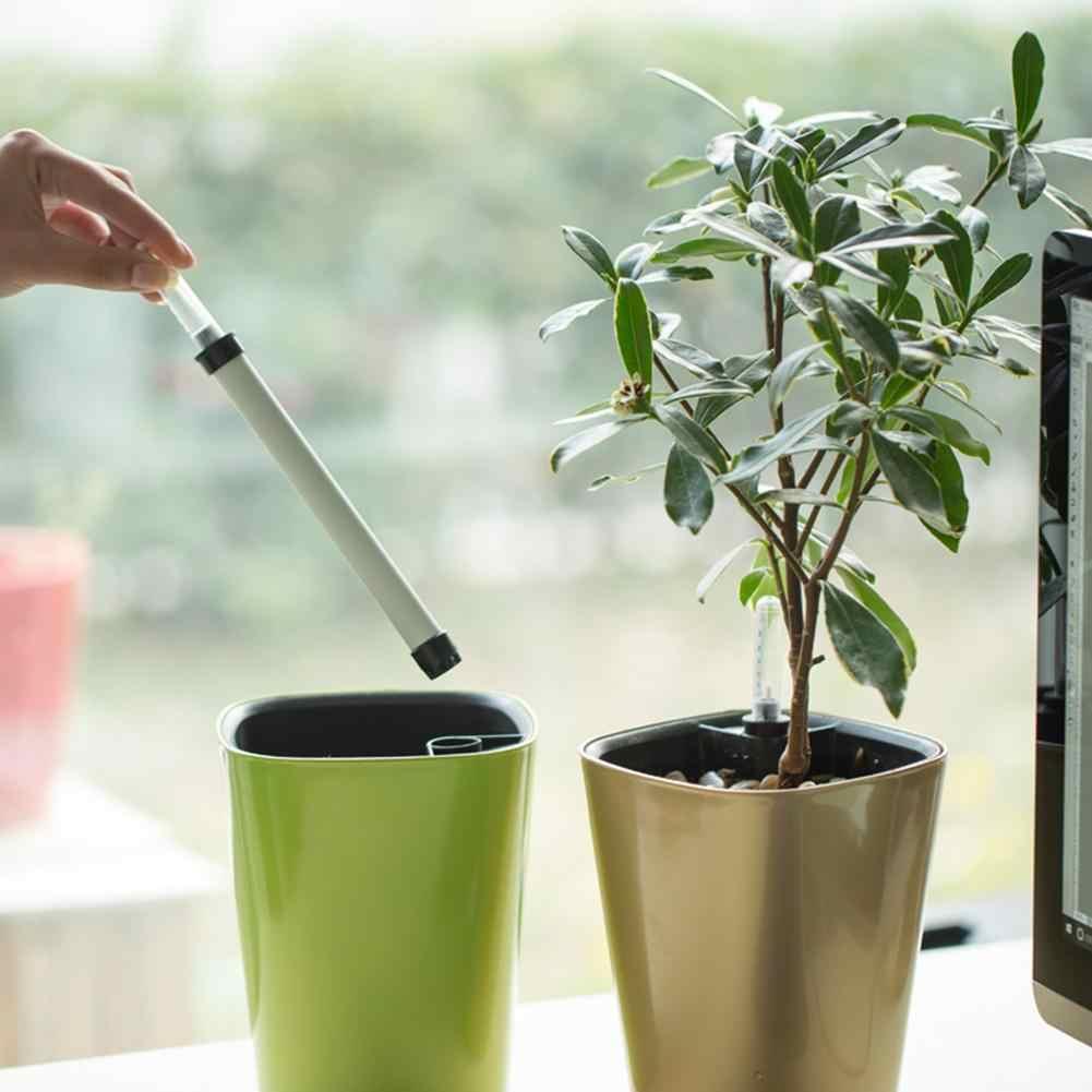 Miernik poziomu wody żywica PP wyświetlacz poziomu wody niedobór wody przypomnienie miernik poziomu artykuły ogrodnicze dla roślin kwiat garnki narzędzie