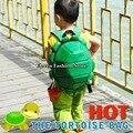 2016 Moda Mochila para Crianças, soft PU sacos de escola para adolescentes Mutant Ninja Turtle mochila, mochila tartaruga ninja