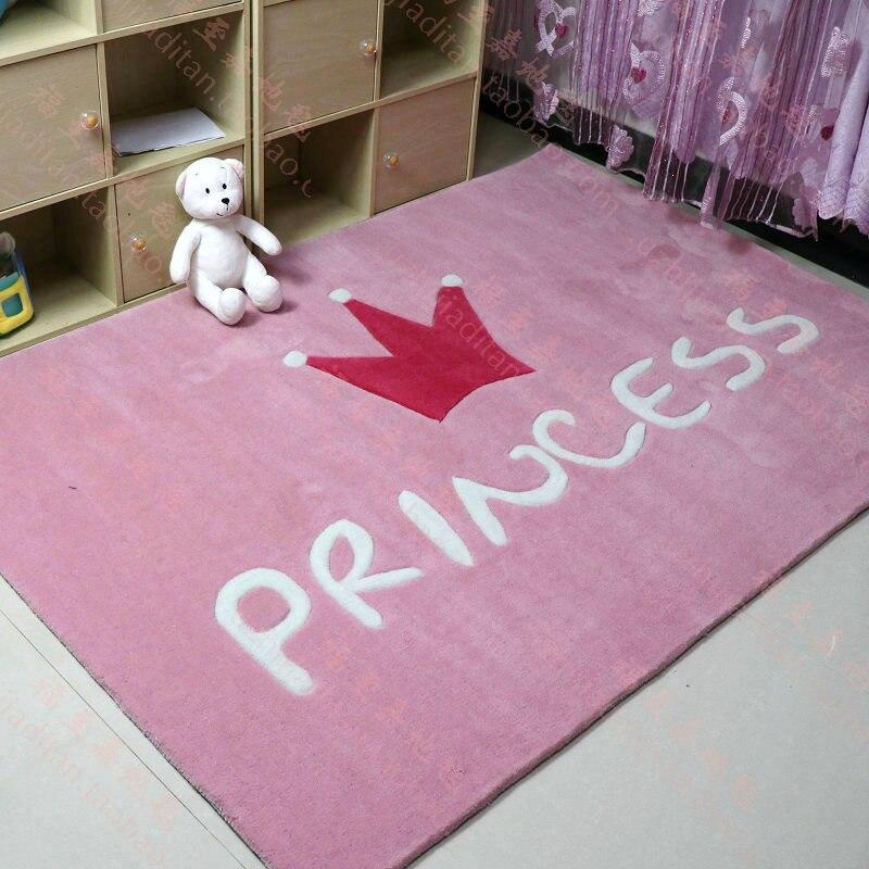 Cartoon Floor Rug Mats Kids Room Decoration Girl Carpet Living Room ...