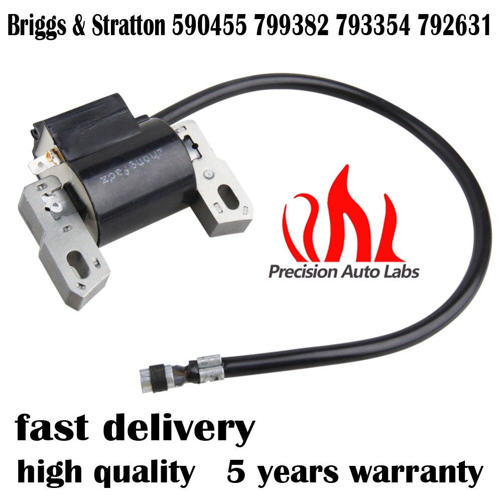 PRECISION AUTO LABS Magneto Armature Ignition Coil For Briggs & Stratton 590455 799382 793354 792631